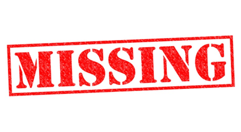 MISSING red Rubber Stamp over a white background.
