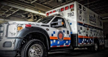 Medical Rescue Team South Authority ambulance