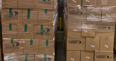 Greater Pittsburgh Food Bank Boxes