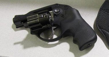 Gun stopped by TSA Agents at PIT on January 11