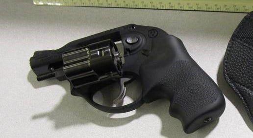 Gun stopped by TSA Agents at PIT on January 11