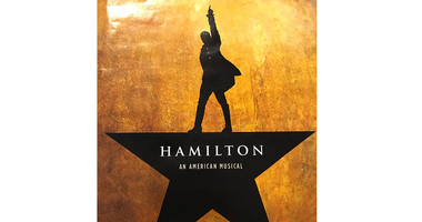 """An image of the logo on the playbill of \""""Hamilton: An American Musical.\"""" Playbill"""