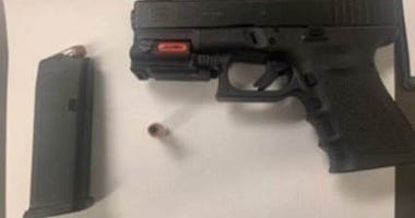TSA officers at Pittsburgh International Airport detected this loaded gun at the checkpoint on October 31.