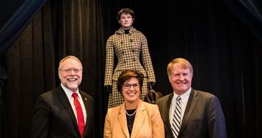 Nellie Bly figure that will be installed at the Pittsburgh Airport