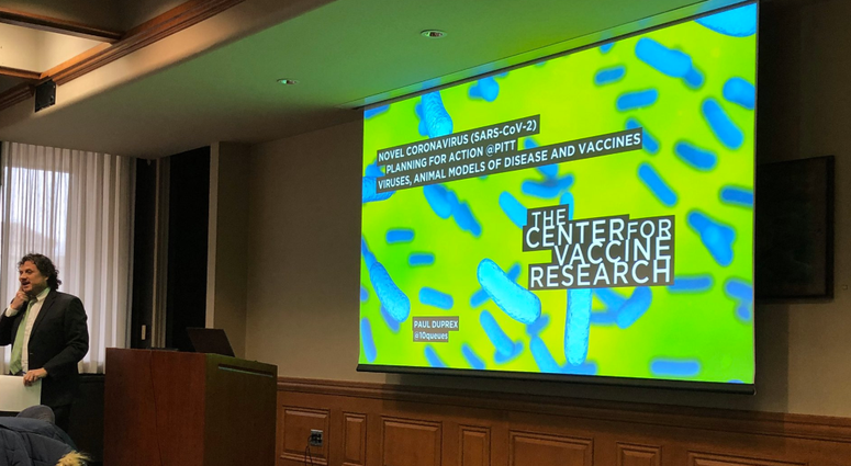 Coronavirus research at Pitt