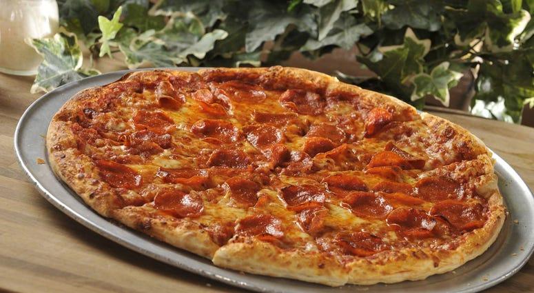 Monte Cello's pizza