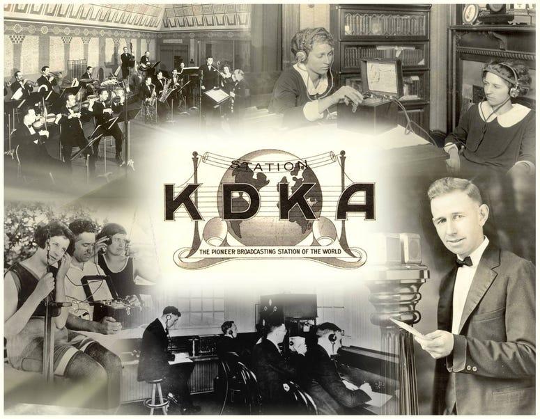 KDKA Radio Collage