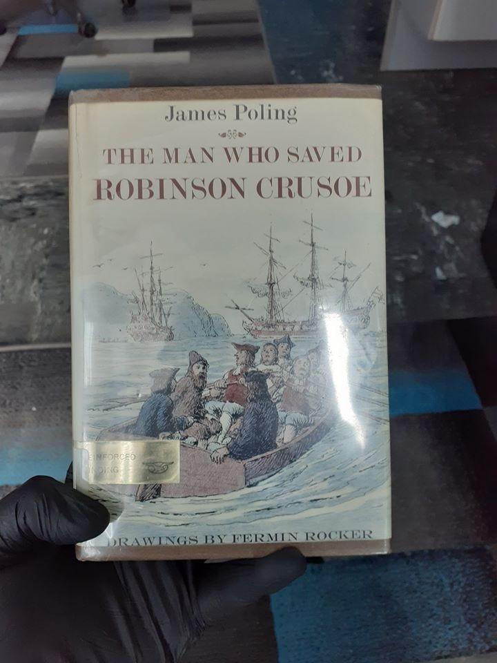 The Man Who Saved Robinson Crusoe