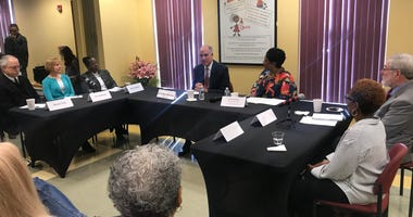 Sen. Bob Casey met with opioid impacted families.