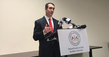 Auditor General Eugene DePasquale announces another audit of the Port Authority.
