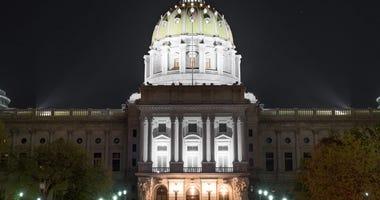 Pennsylvania State Capitol Building Harrisburg