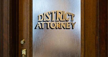 District Attorney's Office Door
