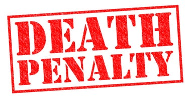 Death Penalty sign