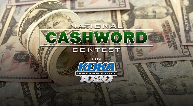 National Cashword Contest on Newsradio 1020 KDKA