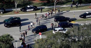 Students Evacuated at Stoneman Douglas High School