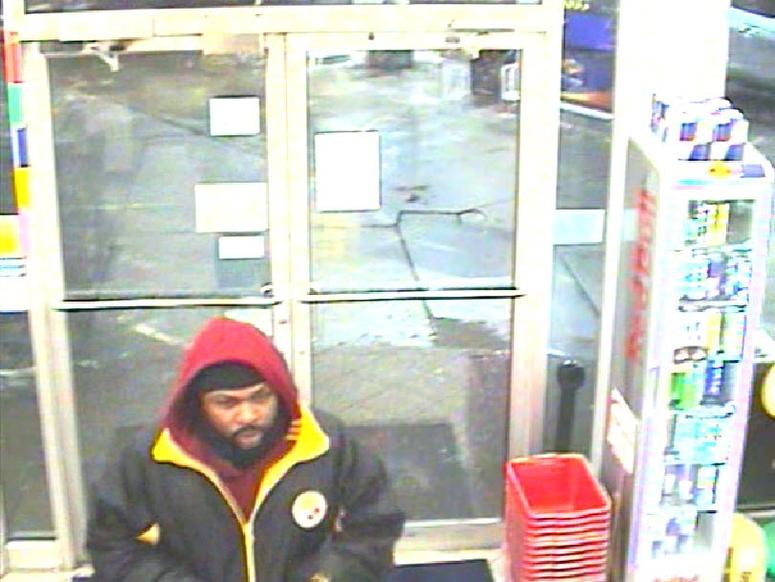 Oakland Sunoco robbery suspect