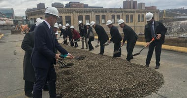 Groundbreaking ceremony for The Highline in the South Side