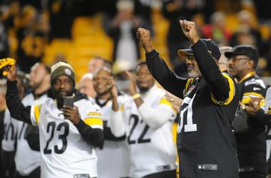 Pittsburgh Steelers former safety Donnie Shell