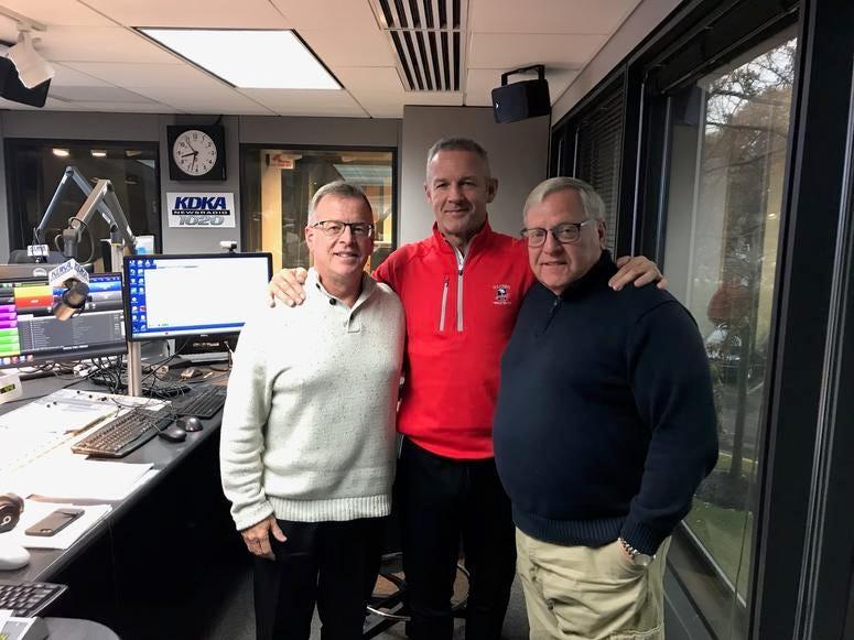 Larry Richert, Merril Hoge, John Shumway