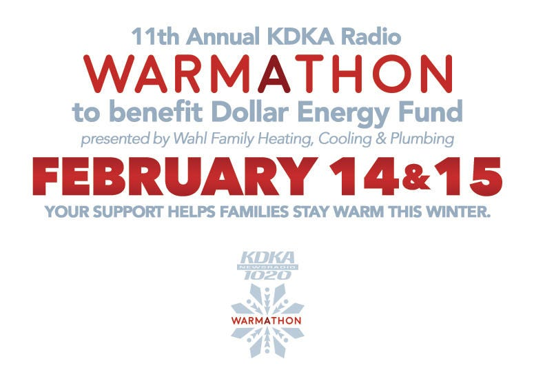 2019 KDKA Radio Warmathon to Benefit Dollar Energy Fund