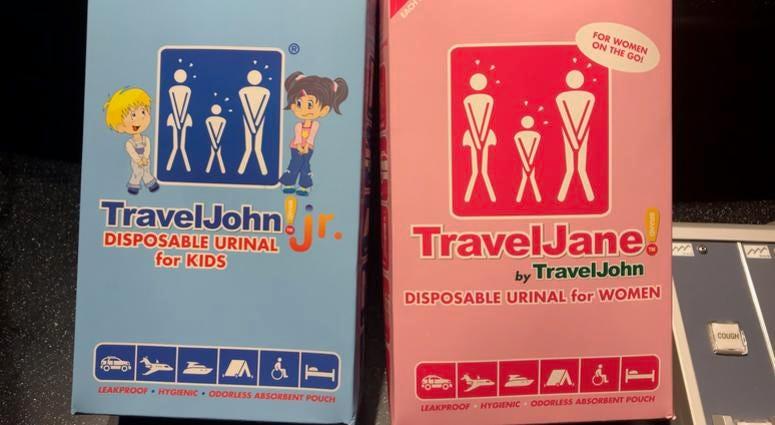 Travel John Disposable Urinals