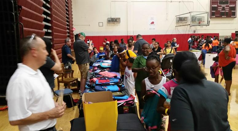 Thousands of students and their families showed up Monday for the Pittsburgh Public Schools annual back to school event called #WeArePPS!