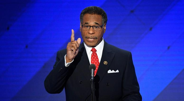 Rep. Emanuel Cleaver, D-Mo., at the 2016 Democratic National Convention.