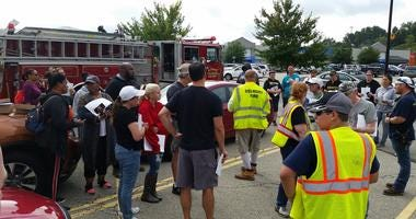Firefighters, Volunteers prepare to search for Nalani Johnson near Delmont