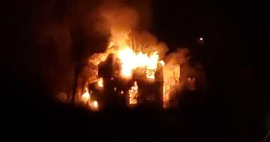 three-alarm fire in Northside on Sunday, December 1st