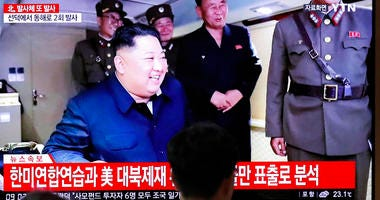 North Korean leader Kim Jong Un at the Seoul Railway Station in Seoul, South Korea, Saturday, Aug. 24, 2019