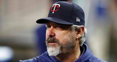 Minnesota Twins bench coach Derek Shelton