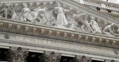 New York Stock Exchange in New York.