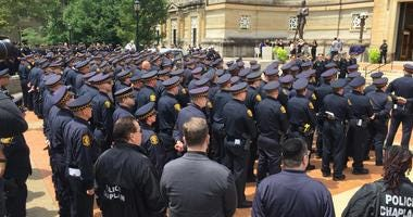 Funeral for Pittsburgh Police Office Calvin Hall