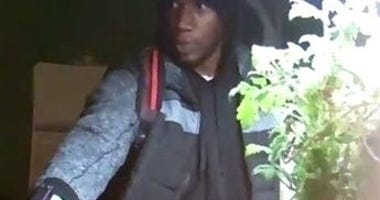 surveillence footage of suspect wanted in deadly Wilkinsburg home invasion