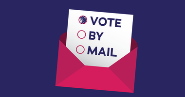 Vote by mail logo