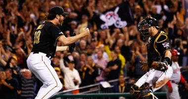 Jason Grilli/ Russell Martin 2013 NL Wild Card Game