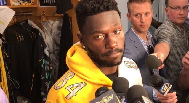 Steelers WR Antonio Brown in 2018