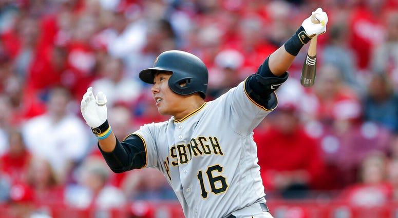 Pittsburgh Pirates' Jung Ho Kang