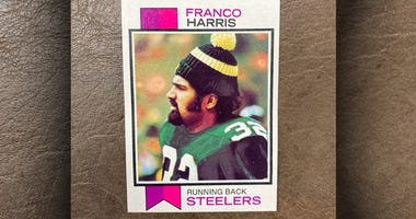 1973 Topps Franco Harris rookie card