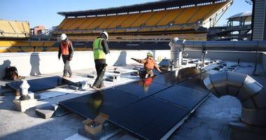 Solar Panels at Heinz Field