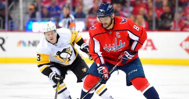 Washington Capitals' Alex Ovechkin, Pittsburgh Penguins' Olli Maatta