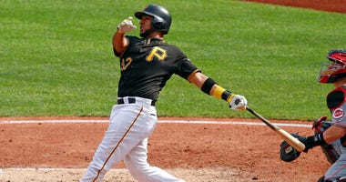 Pittsburgh Pirates' Elias Diaz