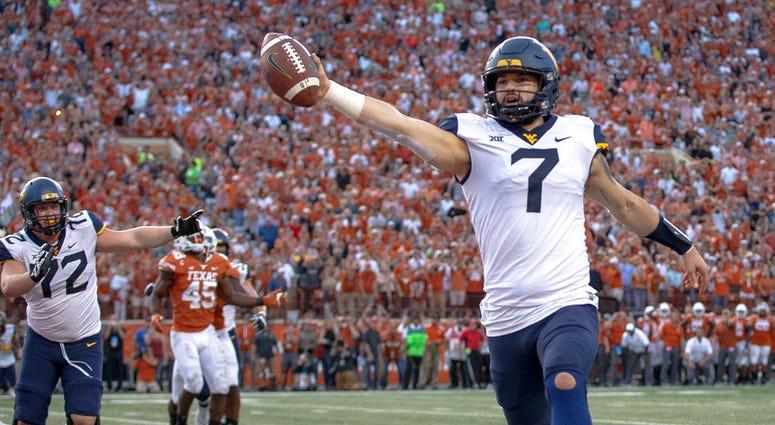 West Virginia quarterback Will Grier