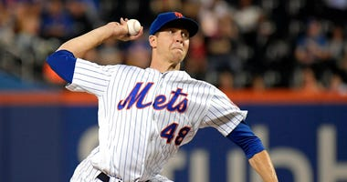 New York Mets pitcher Jacob deGrom