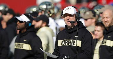 Purdue coach Jeff Brohm