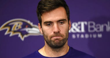 Baltimore Ravens quarterback Joe Flacco