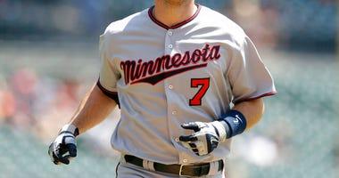 Minnesota Twins' Joe Mauer