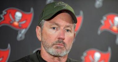 Tampa Bay Buccaneers head coach Dirk Koetter