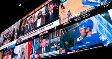 sports betting lounge at the Tropicana casino in Atlantic City N.J. On May 8, 2019, Fox Sports announced it is buying nearly 5 percent of The Stars Group, the parent company of PokerStars, and that the two companies will offer sports betting in the fall i