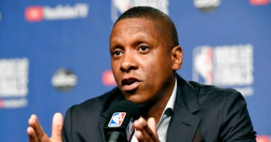 Toronto Raptors basketball team general manager Masai Ujiri